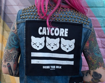 Catcore Back Patch