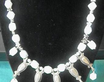 Genuine Amazonite Boho Necklace
