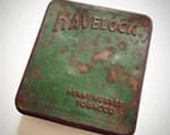 Vintage Tin Box Havelock Ready Rubbed Tobacco Tin