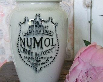Vintage 'Numol' Pottery Jar