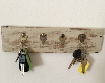 Key Rack made from pallet wood