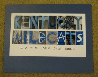 Kentucky Wildcat UK Photo Framable Print