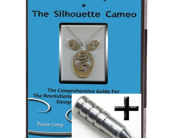 SALE! 15.00 Discount ~ Bundle : Metal Clay + The Silhouette Cameo (Videos on DVD) + The Etching Tool ~~~ Tutorial Metal [VID1+ET]