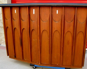 Kent Coffey Perspecta Bar mid century modern Broyhill Brasilia Bar