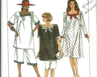 ON SALE Simplicity 9173 Misses Maternity Dress, Tunic, Skirt and Pants Pattern, 8-16 UNCUT
