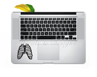 Radiography Xray Technician Respiratory Hospital Lungs Anatomy Keypad Decal for Macbook