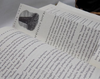 SALE- Harry Potter and The Deathly Hallows Chapter Twenty Bookmark- HPDH20