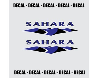 Two Color Sahara Decal Set