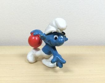 Bowling Smurf - Schleich - 1979