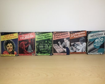 Collection of Six Instructional Photography Books.