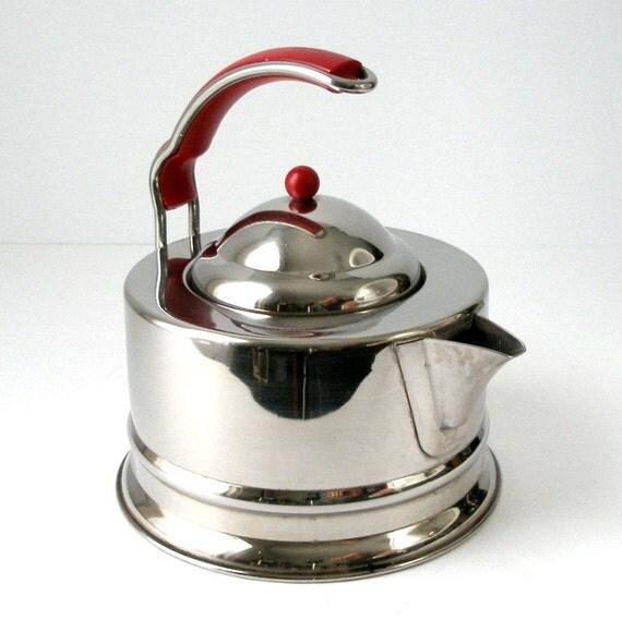 Tee Wasserkocher italienischen Edelstahl Post Moderne 10 Cup ~ Wasserkocher Tee
