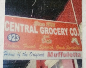 Central Grocery Italian Restaurant French Quarter New Orleans Coaster