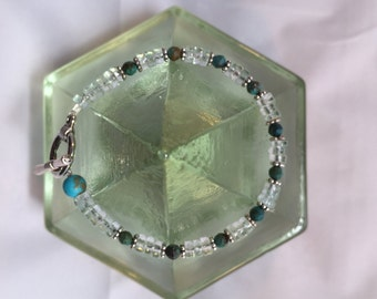 Bracelet: Aquamarine and Turquoise