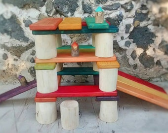 Giant building wood Blocks set / Wiwiurka building blocks