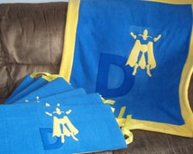 Dr. Fate Superhero-DC Comics Blanket and Logo Bumpers