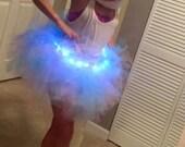 Adult Tutu LED Lights Frozen Elsa Costume- Fairy Unicorn LED light tutu option