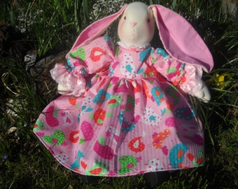 Chloe the Stuffed Bunny Rabbit Doll