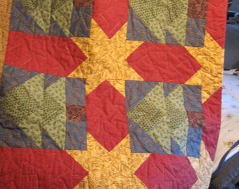 Thimbleberrie Trees and Star Quilt