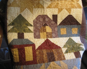 Thimbleberries club quilt 2010