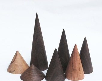 10 Cone Ring Holders