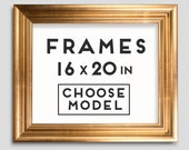 Frames for Prints - 9 models - Choose your frame - Size 16 x 20 inches - 50 x 40 cm