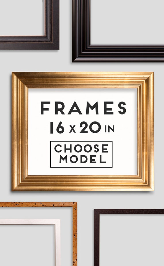 frames for prints 9 models choose your frame size 16 x 20 inches 50 x 40 cm from macanaz. Black Bedroom Furniture Sets. Home Design Ideas