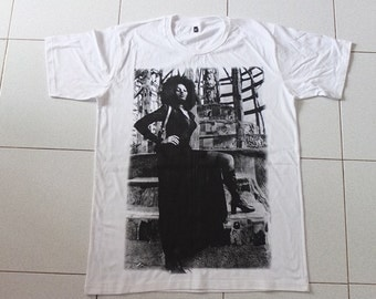 Black Power Film 70's Movie Actress T-shirt L