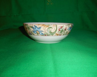 """One (1),  6"""" All Purpose (cereal) Bowl, from Royal Doulton, in the Jacobean Pattern"""