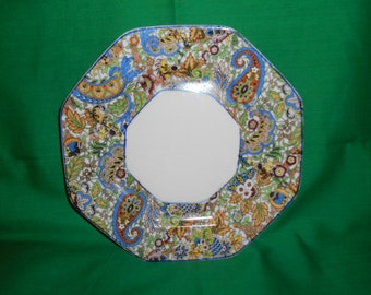 "Four (4) 7 7/8"" Luncheon Plates, from Steubenville China, in the 689 Pattern."