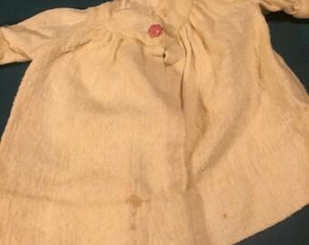 Antique Handmade Doll Coat