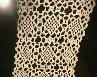 Large Rectangular Doily / Dresser Scarf