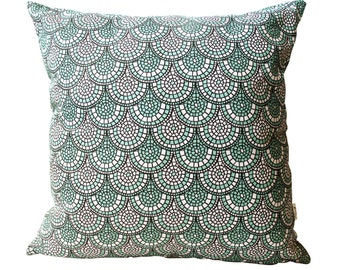 Minty Green Cushion Cover