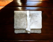 """Wool Felted """"Macbook Sleeve, MacBook Pro case, Laptop, Felted Wool Note Book Computer Cover, momoish made"""
