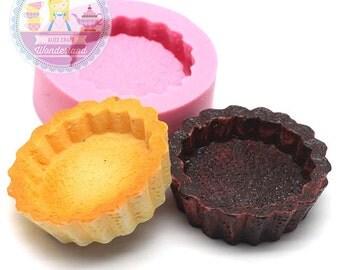 Big Cake Base Tart Base 33mm Miniature Food Mould Food Mould Sweet Mould Flexible  Bakery Mould Silicone Mould 354L BEST QUALITY