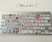 Floral #2 iMac, MacBook Pro, and MacBook Air Keyboard Protective Skin