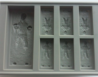 Han Solo Carbonite Freeze Silicone Mold Star Wars Party