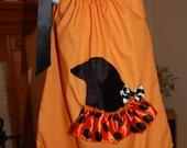 Halloween Pillowcase Dress with Matching Headband