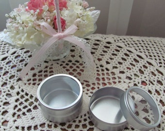Party Favors, Candy Tins, Mint Tins, Ideal for Creating Your own Wedding Favors, Bridal Shower Favors, Baby Shower Favors Etc
