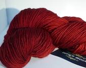 Merino Wool Yarn Red Ravi...