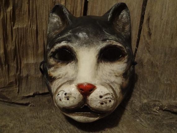 Halloween mask, cat mask, cat costume