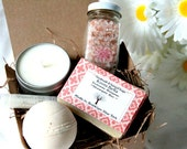 Kismi Bella Gift Set, Bath Salts Gift Set, Valentine's Day Gift Set, Weddings, Bridesmaids Gift, Party Spa Favors,Gift For Her