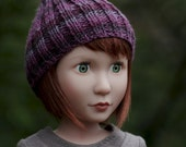 Beanie Hat PDF Knitting Pattern for 16 inch doll Such as A Girl For All Time Doll