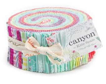 SALE - Moda Canyon Jelly Roll by Kate Spain *NEW*