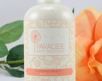 Summer Peach Body Lotion 8 oz