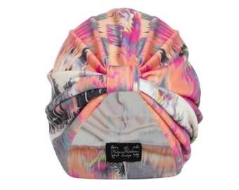 Isla Neon Jersey Turban