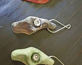 Rock climbing  hold keychain