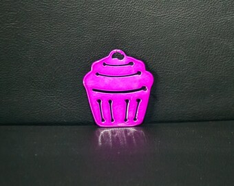 Cupcake KeyChain, Sweet treat, Gift for her