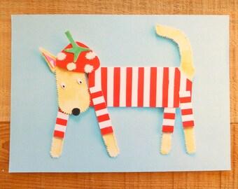 A4 Print 'Strawberry Hound'