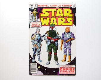 Marvel Star Wars Comic #42 - Vintage Star Wars, First Bobba Fett - NM 9.5