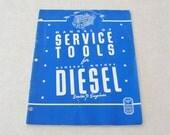 1943 Kent-Moore Manual of Service Tools for General Motors Diesel Series 71 Engines, 31 pages